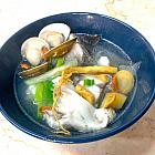 鮮蔘鱸魚湯