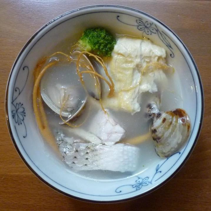 靓顏蔘魚湯