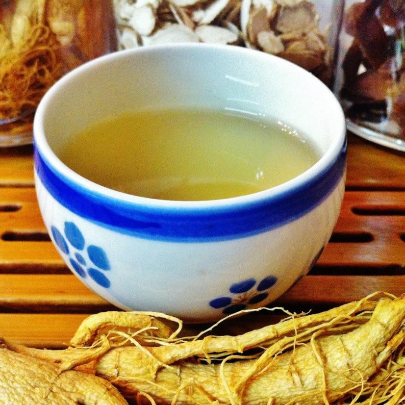 人蔘川七茶